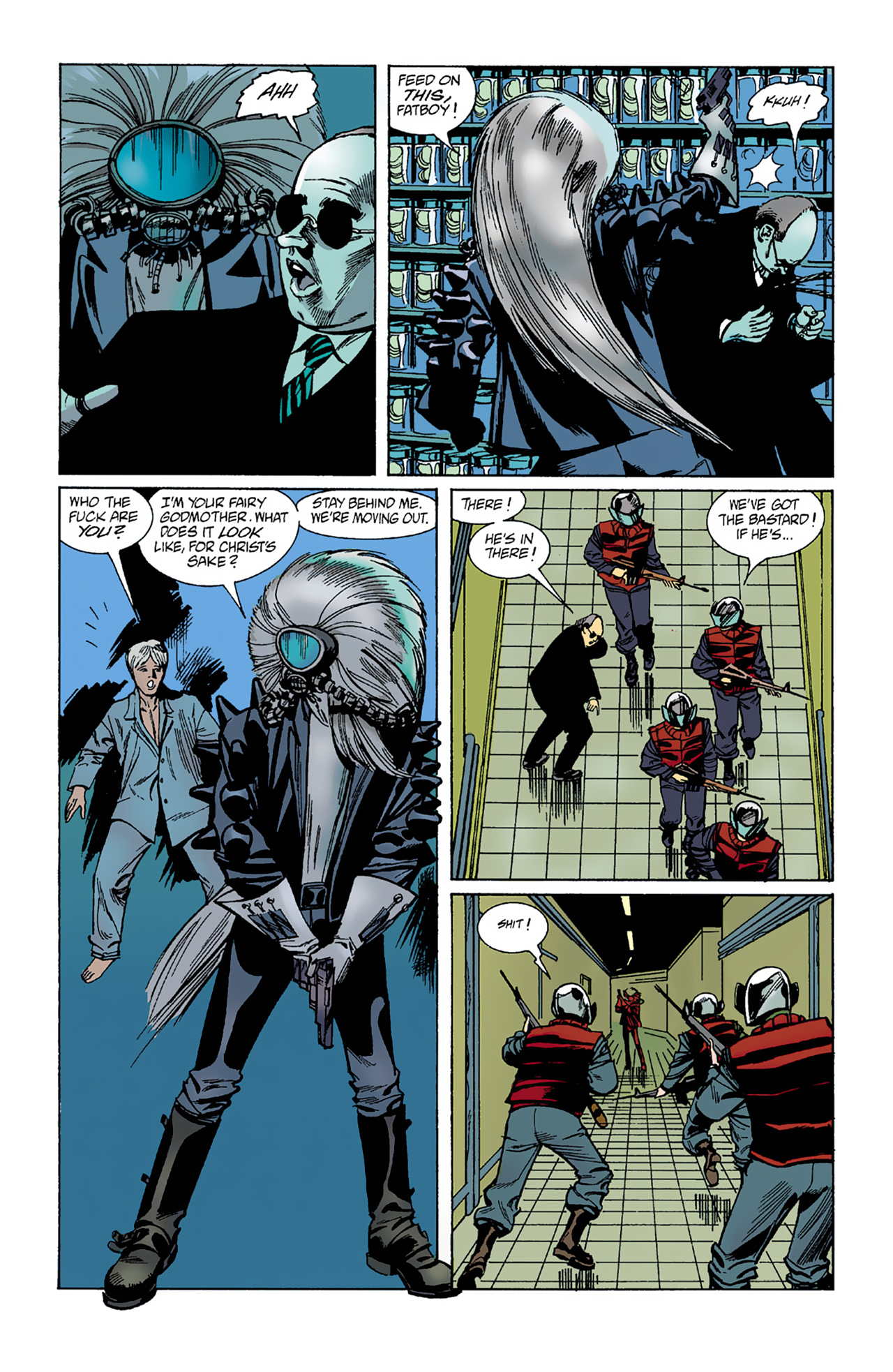 The Invisibles (1994) 1 Page 34