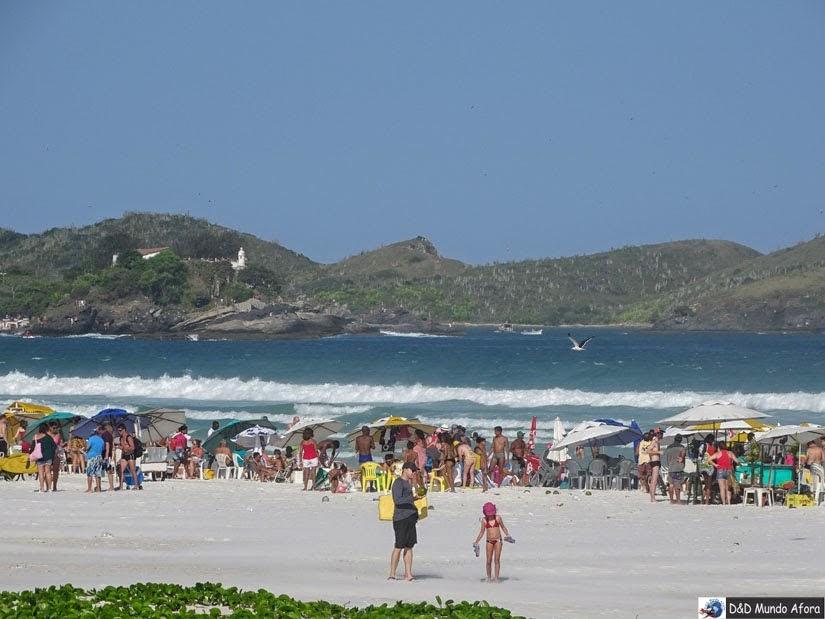 O que fazer em Cabo Frio - Praia do Forte - Rio de Janeiro