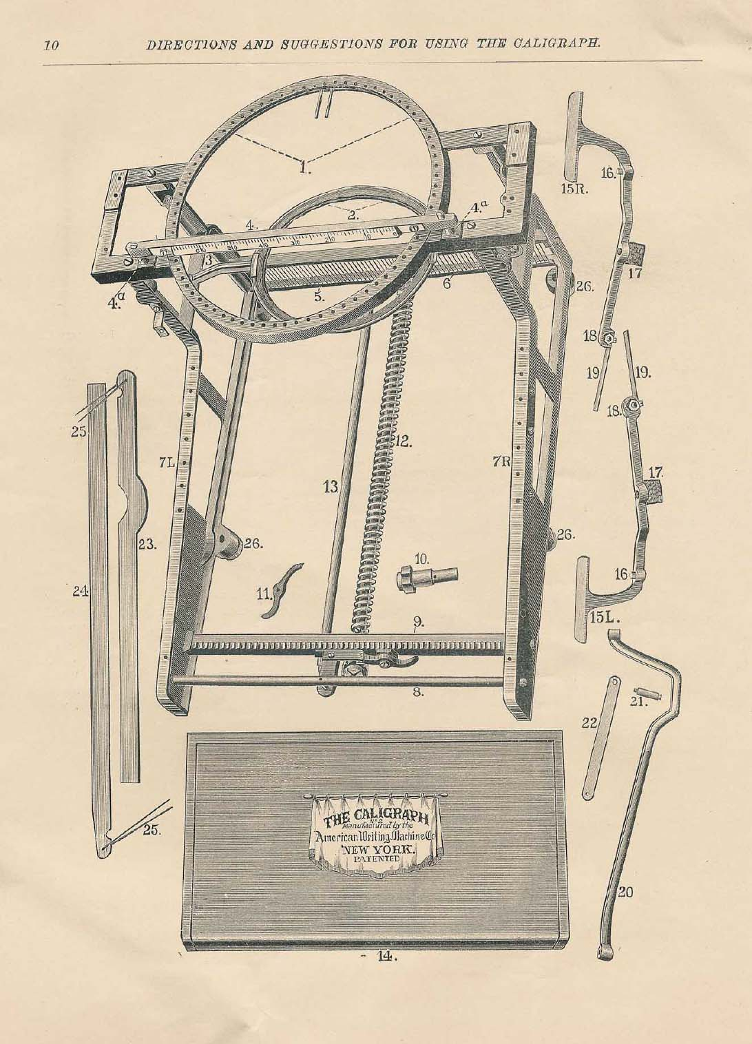Manual Typewriter Diagram 1999 Toyota 4runner Brake Controller Wiring The Revolution Blog Caligraph Progress And