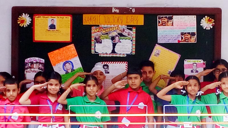 BCMites Paying Tribute to Kargil War Heroes