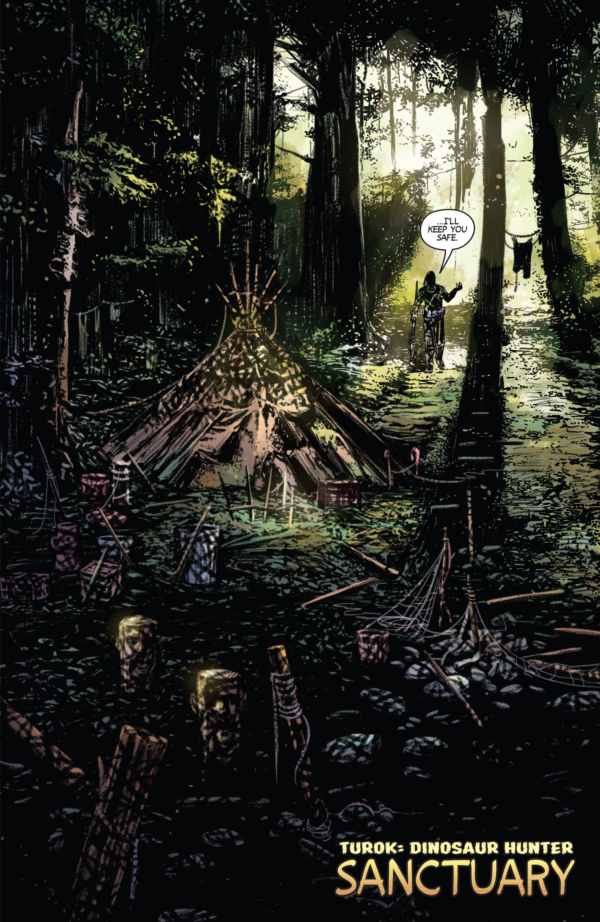 Read online Turok: Dinosaur Hunter (2014) comic -  Issue #1 - 5