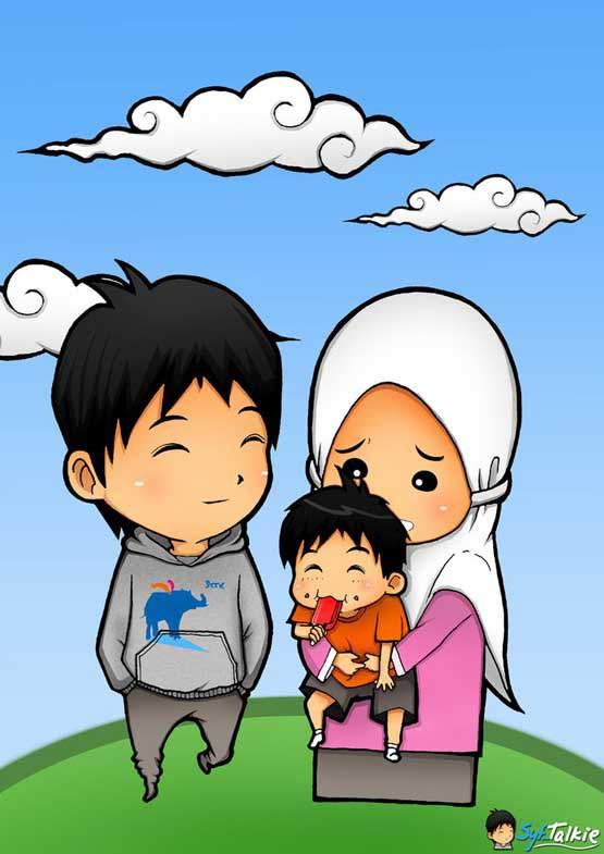 32+ Gambar Kartun Keluarga 1 Anak - Gambar Kartun Ku