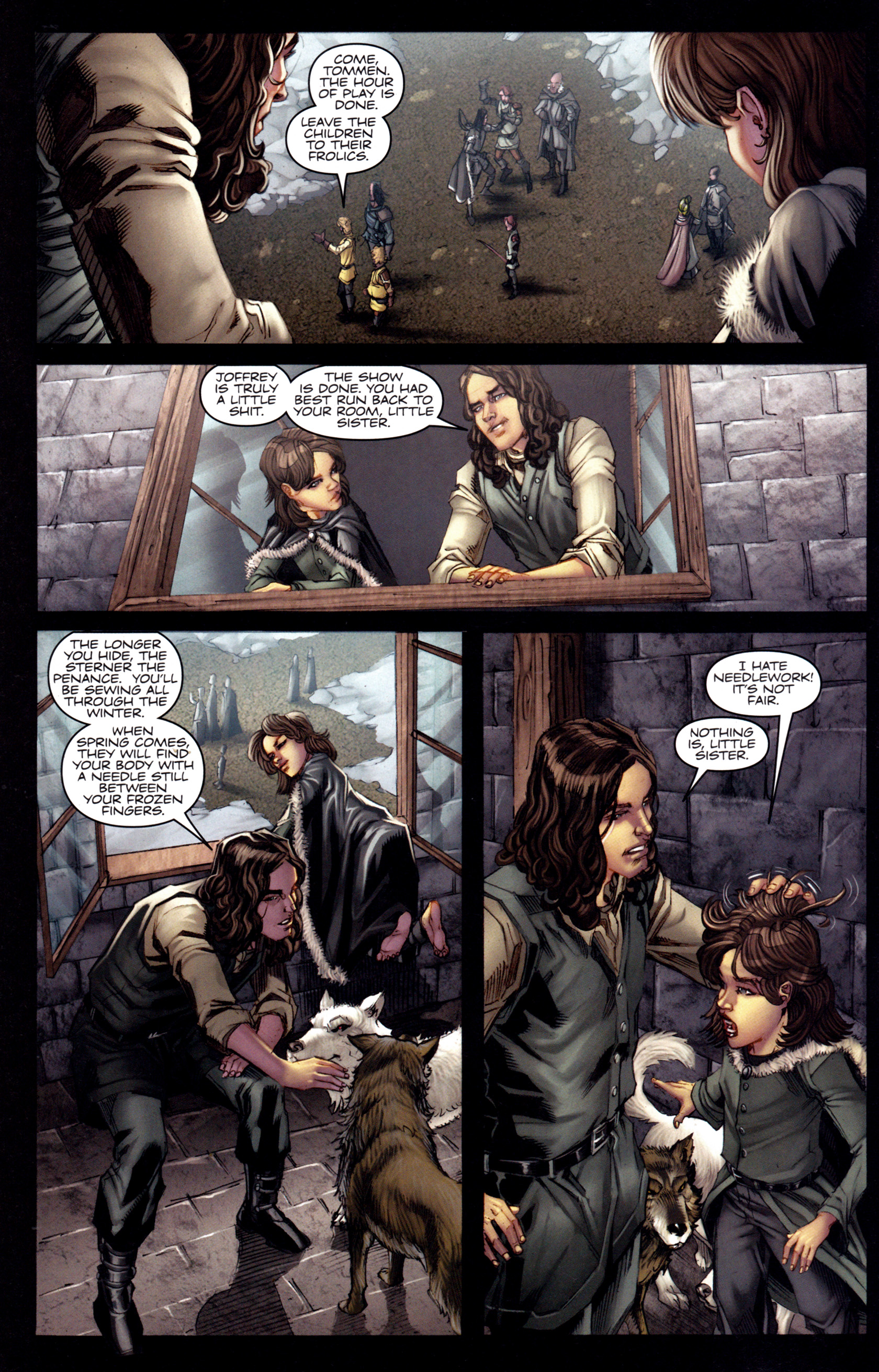 Read online A Game Of Thrones comic -  Issue #3 - 10