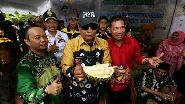 Gubernur Kalsel Resmikan Desa Bi-ih Sebagai Agrowisata Durian