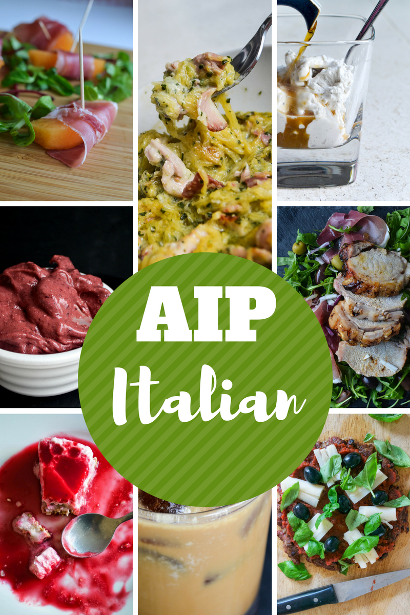Comfort bites blog aip italian food recipe roundup you know what my favourite type of food was before i went aip italian forumfinder Images