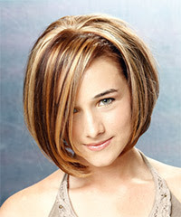 Funky Edgy Bob Hairstyle