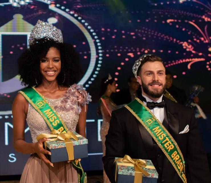 Adryelhe Peixoto e Gabriel Ximenez são eleitos Miss e Mister Brasil 2018. Foto: Danilo Silva