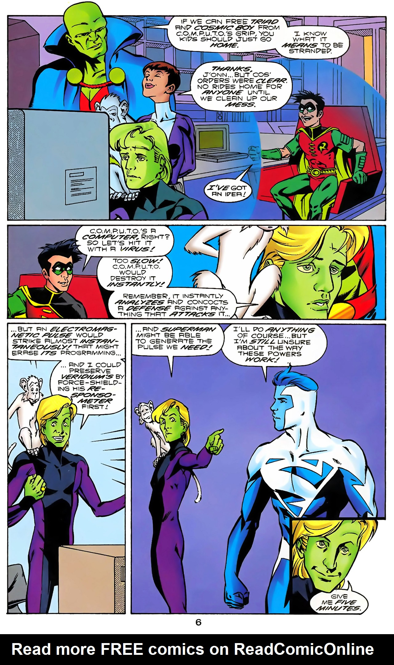 Legion of Super-Heroes (1989) 100 Page 7