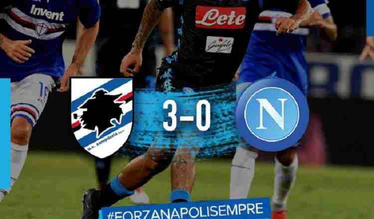 Hasil Sampdoria vs Napoli Skor Akhir 3-0 [Serie A 2018]