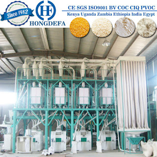 photo for maize milling plant of 50t