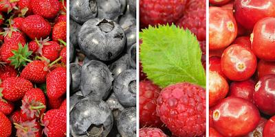 Red fruit - frutos vermelhos