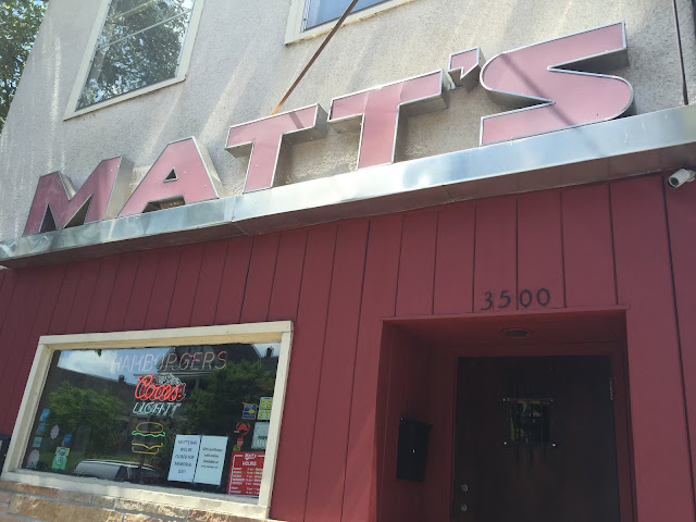 Matt's Bar home of the Jucy Lucy in Minneapolis, Minnesota