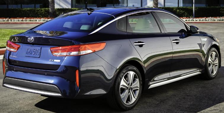2017 Kia Optima Hybrid Plug In Niro Huv