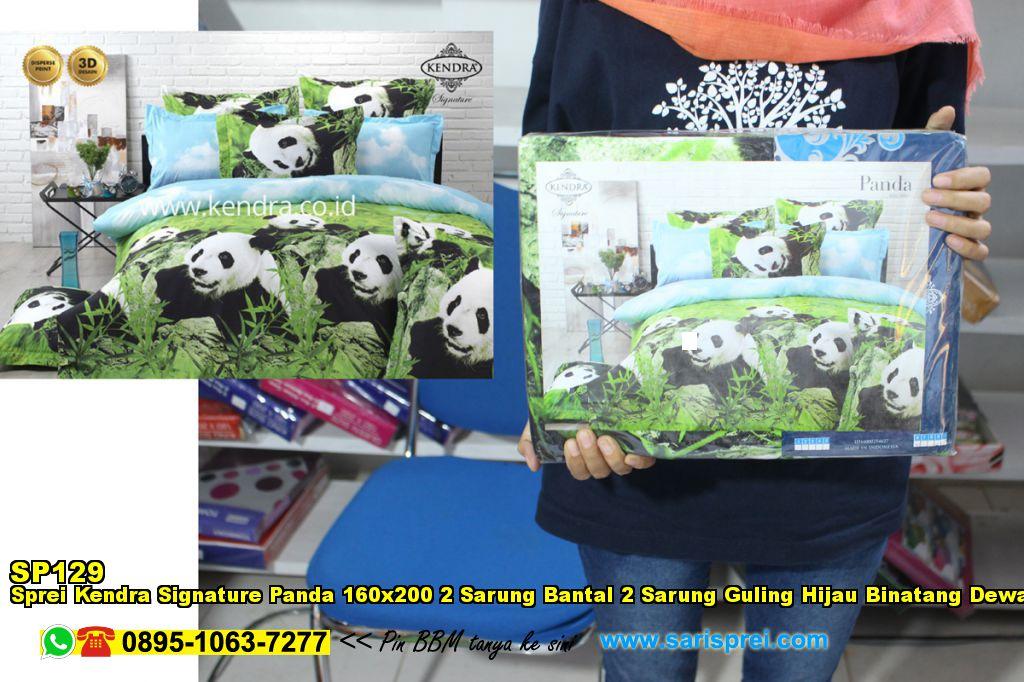 Sprei Kendra Signature Tiger Tulips 160×200 2 Sarung Bantal 2 ...