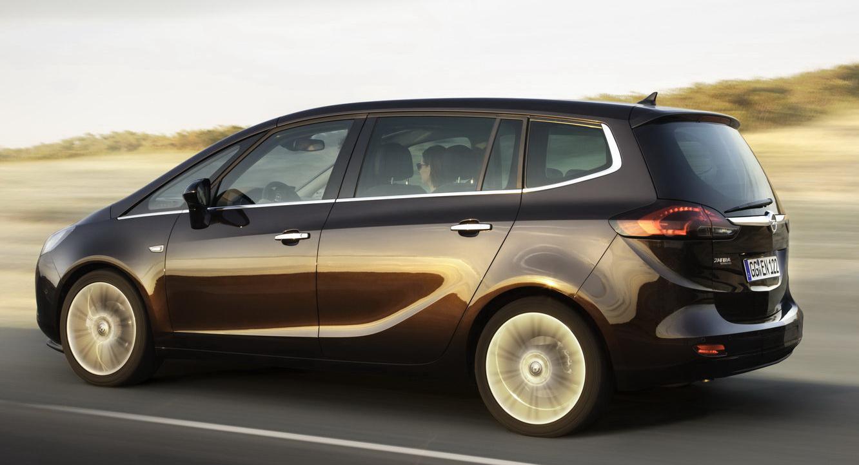 In4ride Next Generation 2012 Opel Zafira Shown