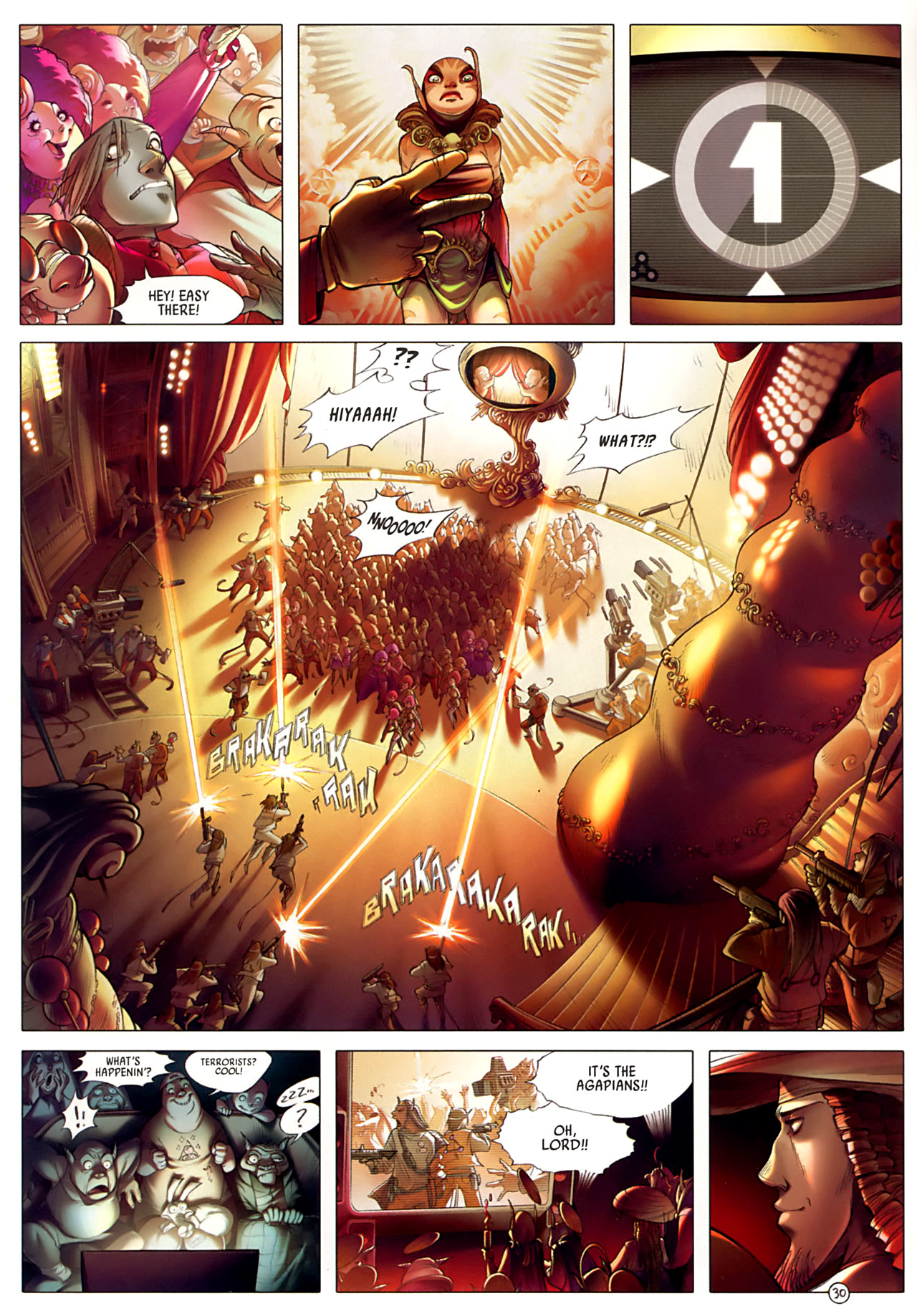 Read online Sky Doll comic -  Issue #3 - 34