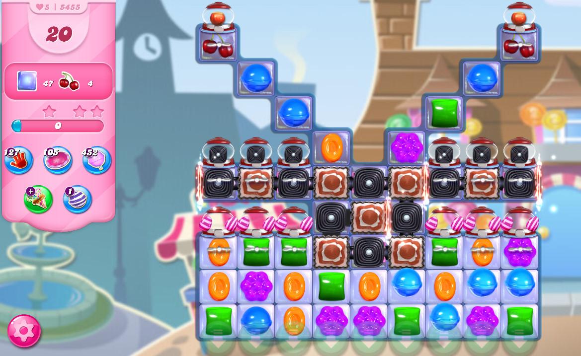 Candy Crush Saga level 5455