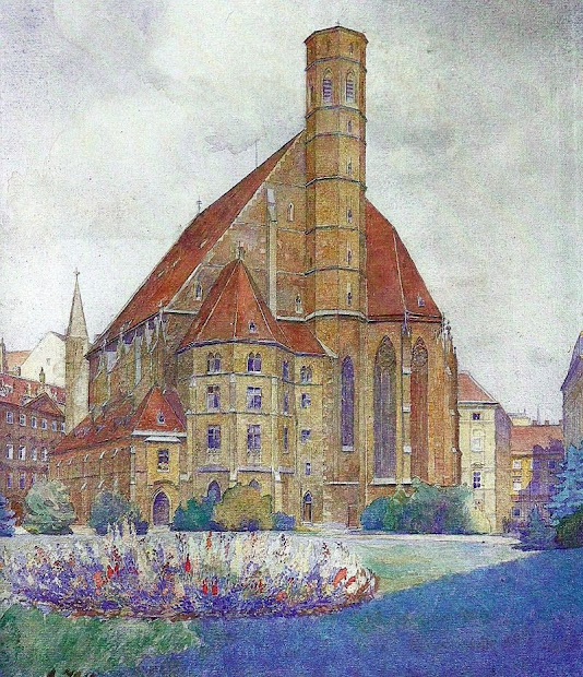 Adolf Hitler Watercolor Paintings