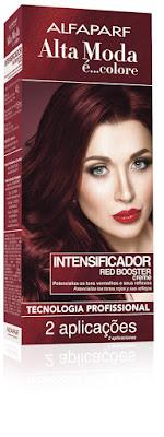 intensificador de cor para cabelos