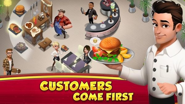 World Chef Mod Apk v1.34.2 (Instant Cooking)