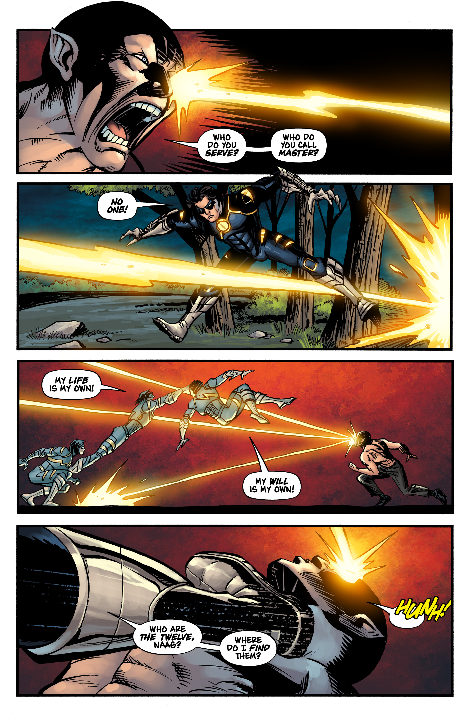 Read online Shadow Tiger comic -  Issue #1 - 25