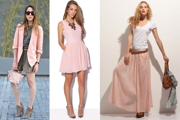 Empezando el mes de rosa palo - Colores que combinan con rosa ...