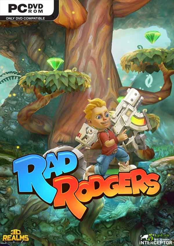 Rad Rodgers World One Download Cover Free Game