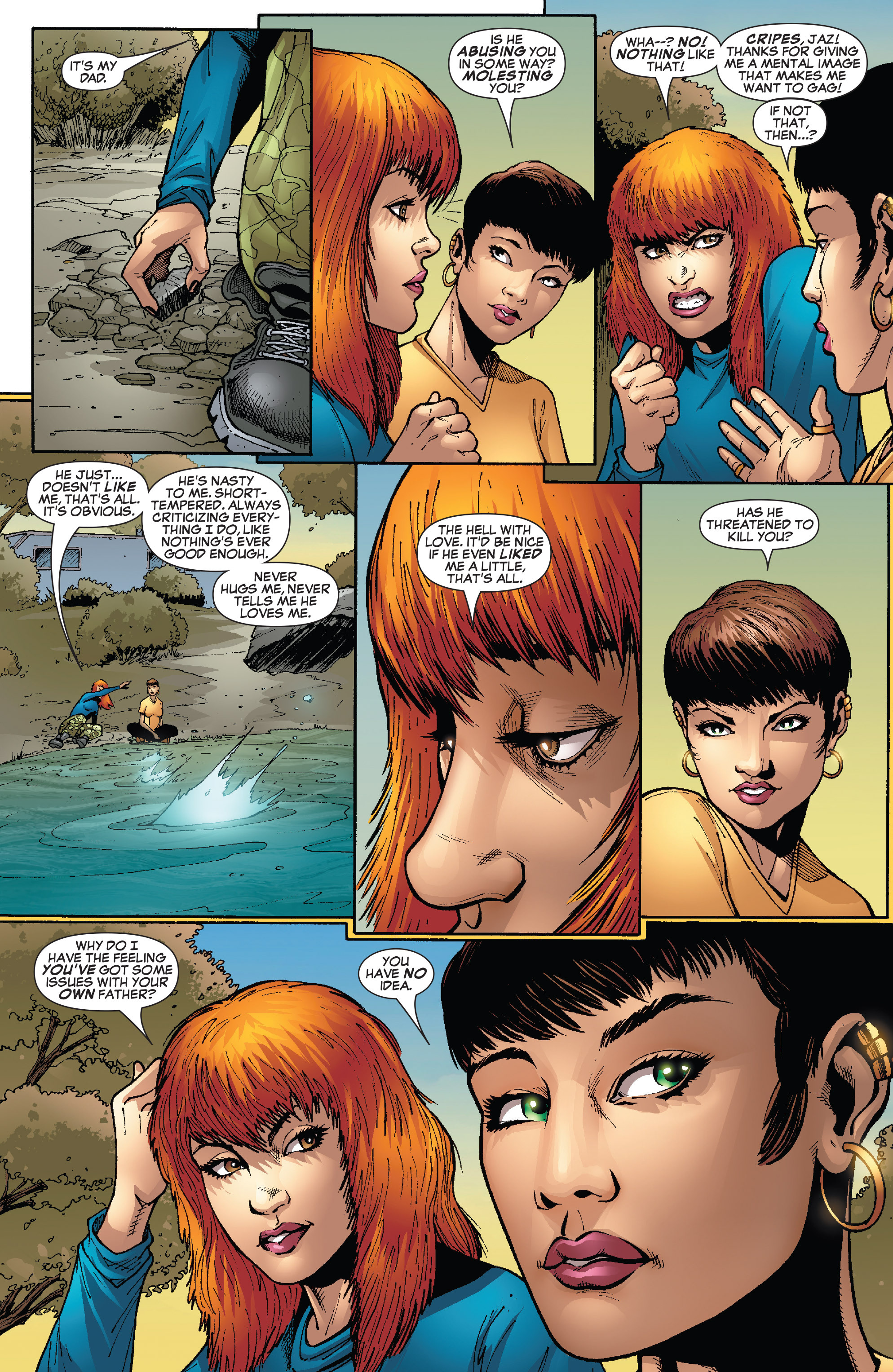 Read online She-Hulk (2005) comic -  Issue #24 - 14