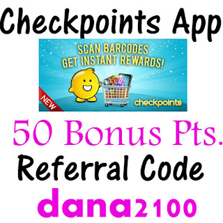 CheckPoints Bonus Code 50 Points Bonus, Checkpoints Promo Code, Checkpoints Referral Code, Checkpoints Reviews