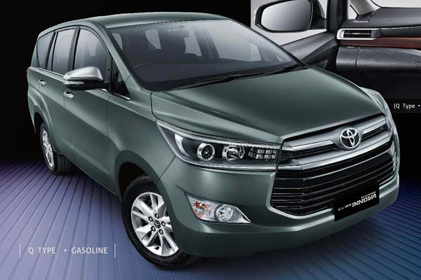 All New Toyota Kijang Innova Paling Laris Warna Hitam dan