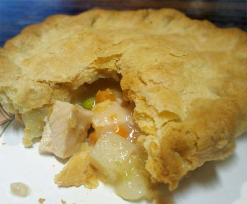 Easy Chicken Pot Pie with Homemade Gravy
