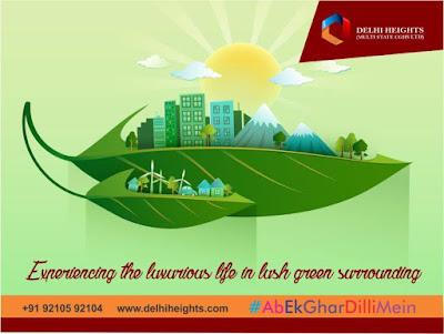Luxurious Green City Life Homes Dwarka Delhi