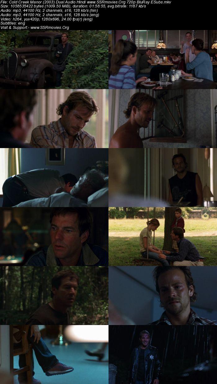 Cold Creek Manor (2003) Dual Audio Hindi 720p BluRay