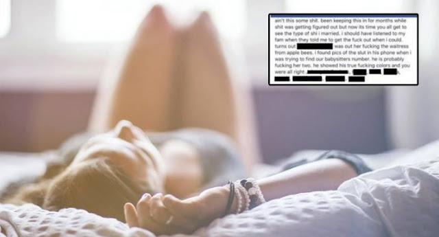 Esposa podría ir a la carcel por exhibir a la amante de su esposo en FB desnuda