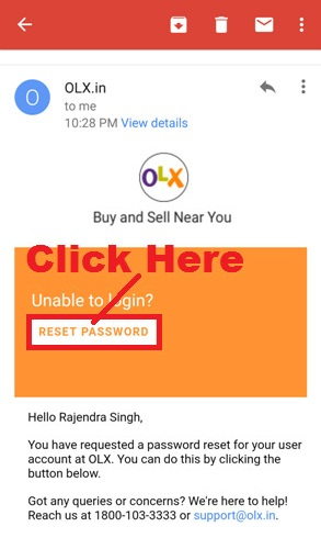 How To Reset OLX Account Login Password in OLX App Step By Step in