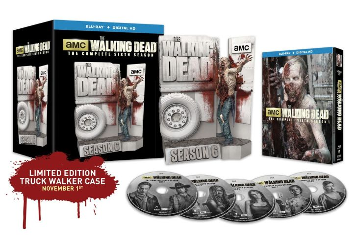 Enter our The Walking Dead - Season 6 - Limited Edition Blu-ray Giveaway