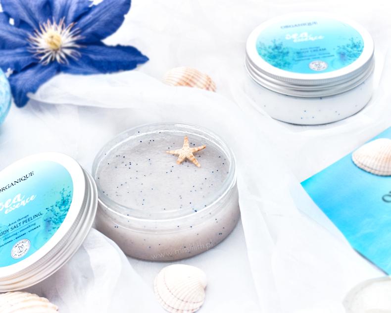 Organique, Sea Essence peeling solny blog opinie