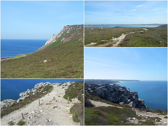 La Presqu'île de Crozon : la Pointe de Dinan