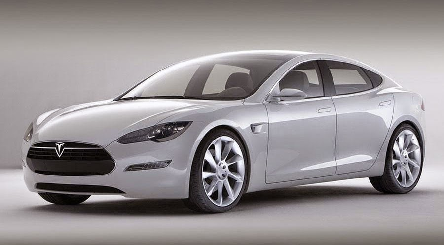Business tycoon MVP owns Tesla Model S luxury car