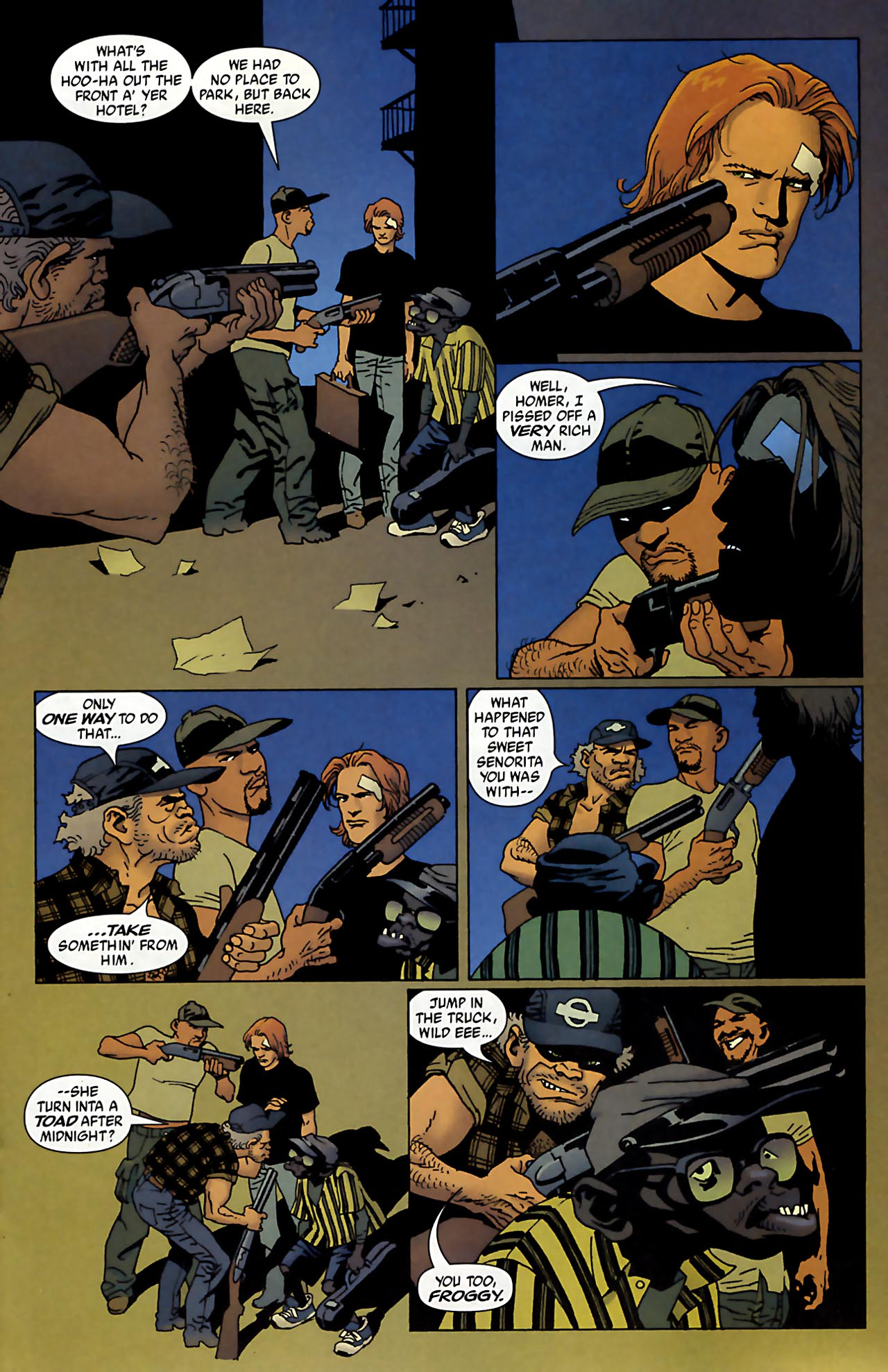Read online 100 Bullets comic -  Issue #55 - 7