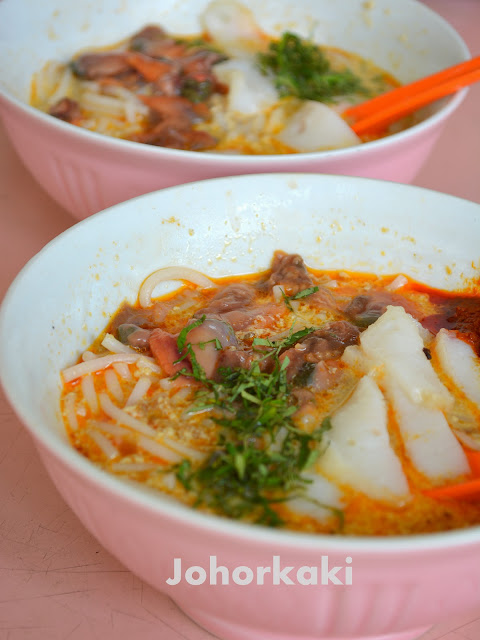 Sungei-Road-Laksa-Singapore-结霜桥叻沙