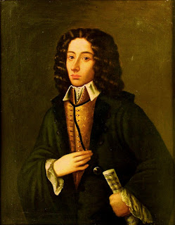 A portrait of Pergolesi presented to the Naples Conservatory by his brother, Florimo