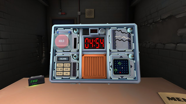 Screenshot from Keep Talking and Nobody Explodes