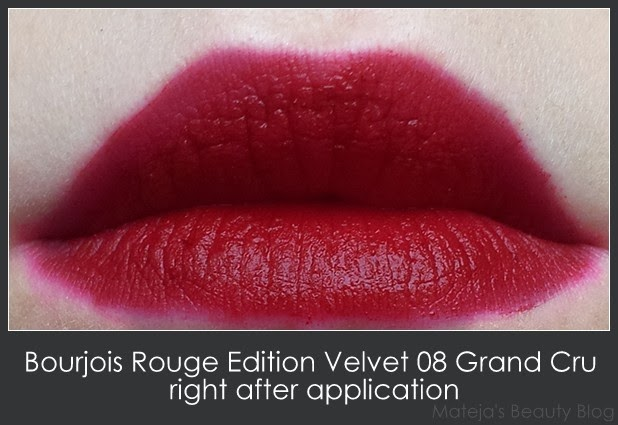 Buy bourjois rouge edition velvet grand cru 08 best price in.