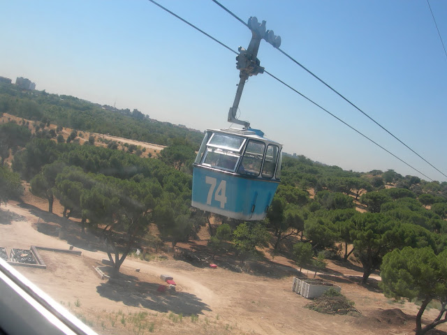 Teleférico paseo Madrid