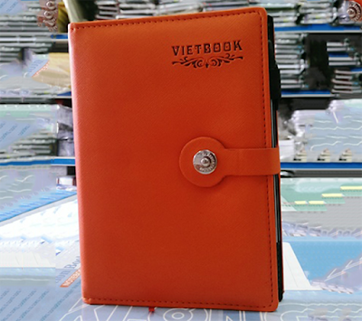 Các loại sổ tay, sổ bìa da phổ biến hiện nay