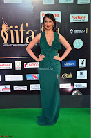 Laxmi Rai in a Deep neck Beautiful Green Gown Cute Actress Laxmi Rai ~  022.JPG