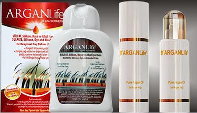Arganlife Hair Shampoo And Oil