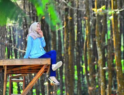 Top Selfie Hutan Pinus Kragilan Magelang