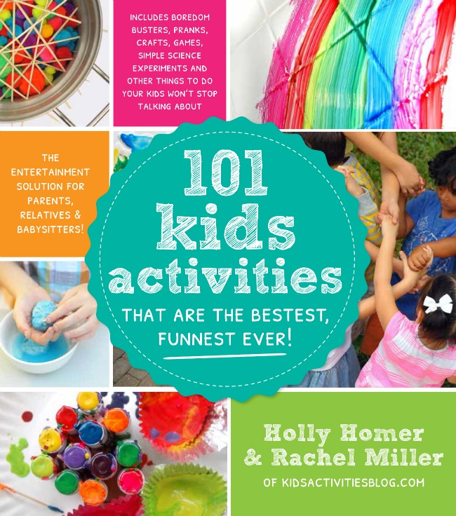 101 Kids Activities Book